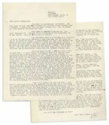 Hunter Thompson 1964 Letter On ''cassius X'', Jfk And More
