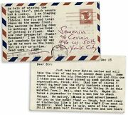 1965 Hunter S. Thompson Letter Re Helland039s Angels