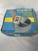 """Flexco Tp Rubber Wall Base Brown 4"""" X 50' X 1/8"""" Guage Commercial Quality"""