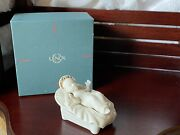 Lenox China Jewels Nativity Baby Jesus - Made In The U.s.a. With Box