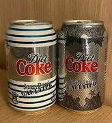 Rare Collectable 2012 Unopened Jean Paul Gaultier Diet Coke Cans X 2 Coca Cola