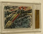 Mick And Matt Glebe Art Leaf 2015 X Wing Fighter 1/1 San Diego Comic Con Exclusive