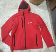 New With Tags Rare Leinenkugels Red Softshell Jacket By Clique Menand039s Size Large