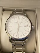 Baume And Mercier Men Automatic M0a08833 New No Warranty Card