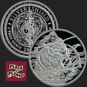 Silver Shield 1 Oz Proof | 2019 | Death Of The Dollarandnbsp 24 | Rate Reaper Inverted