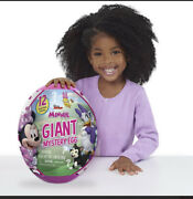 Giant Mystery Egg Toy Capsule Disney Junior Minnie Mouse Great Gift Surprise New