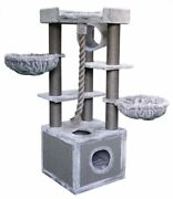 65 Tall Iceland Cat Tree - Free Shipping In The U.s.