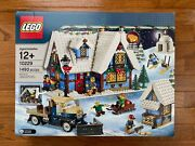New And Sealed Lego Creator Winter Village Cottage 10229 - Retired And Rare