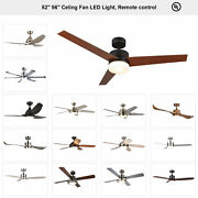 Ceiling Fan 52 56and039and039 Brushed Nickel / Old Bronze W/ Led Light And Remote Control