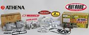 Banshee Athena Wiseco 64mm Ported Cylinders 375cc Stroker Crank Pistons Pro Head
