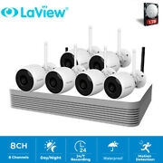 Laview 1080p 8 Channel 1tb Hdd Nvr W/6 Bullet Ip Camera Wireless Security System