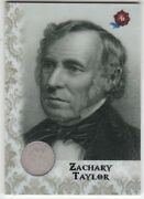 2020 Historic Autographs Potus The First 36 Zachary Taylor 1850 Silver Dime /16