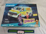 Playmobil 70286 Scooby-doo Mystery Machine Fred, Daphne, And Velma New In Box