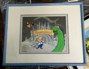 Beany And Cecil Animation Cel Beanyland 44/500 Ltd Ed. Clampett