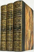 Rare 1841 Arabian Nights Entertainments Leather Illustrated 10 179 Years Old