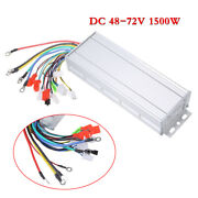 48-72v 1500w Brushless Electric Bicycle E-bike Scooter Dc Motor Speed Controller