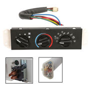 For 1999-04 Jeep Wrangler Tj Hvac Ac A/c Heater Control With Blower Motor Switch