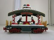 New Bright Holiday Express 384 Candy Dancer Christmas Train Car G Scale