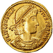 [905032] Coin Constance Ii Solidus Antioch Contemporary Imitation Gold