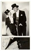Edgar Bergen And Charlie Mccarthy Signed Photo Signature