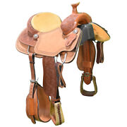 New 15 Coolhorse Team Roping Saddle Code Cool1514cadrose