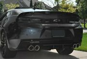 3pc For 16-20 Chevy Camaro Factory Sty Black Abs Rear Trunk Spoiler +free Gift