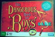 The Dangerous Book For Boys Board Game 2006 Parker Brothers Complete Unpunched