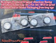 American Racing 89-8032 Wheel Center Cap Set Of 4 Nos Ford Mustang Chevy Dodge