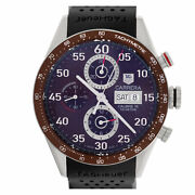 Tag Heuer Carrera Caliber 16 Cv2a12 Stainless Steel Brown Dial 43mm Automatic