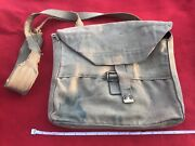 Vintage Ww2 Haversack Kit Bag. Marked M.e.co. 1940. Crows Foot Marked