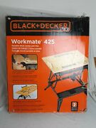 Black And Decker Workmate 425 Worktable And Vise Plus Extras