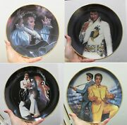 8 Collector Plates- Elvis Presley -elvis Remembered - By Susie Morton New In Box