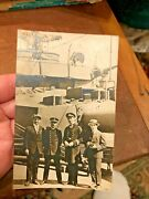 Wwi Sailors And Boat W/president Of Parties Spanish Cruiser Emprador Carlos V
