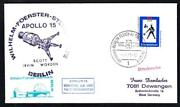 Germany Sternwarte Observatory Apollo 15 Lunar Liftoff Space Cover 4060