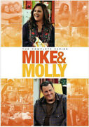 Mike And Molly The Complete Series Seasons 1-6 Dvd 2016 17-disc Set