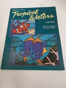 Tropical Waters By Leslie Gibbs - Sea Life Patterns For Stained Glass 1994