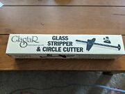 Glastar Stripper And Circle Cutter Stained Glass W/spare Turret