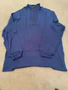 New Singapore Airlines First Class Unisex Pajama Set In Blue. Medium Size