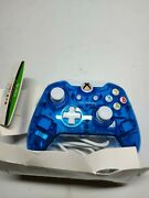 Pdp Rock Candy Wired Controller For Xbox 360, Blueberry Boom,new
