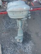 1950and039s Montgomery Wards Sea King 5 Hp Outboard Motor In Ny. Parts Restore