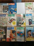 Lot Of 13 Vintage 1960 Popular Electronics Magazines Entire Year Minus March