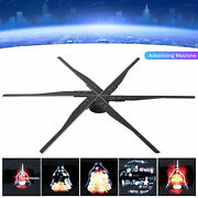 Wifi 3d Holographic Projector Hologram Led Display Fan Advertising Machine 6 Fan