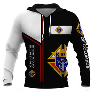 Knight Of Columbus 3d Hoodie For Men For Women All Over Printed Hoodie