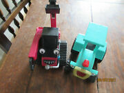 Bob The Builder X2toy Travis Tractor Benny Grab Crane Digger Friction Traction