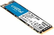 Crucial - P2 500gb Internal Pcie Gen 3 X4 Solid State Drive M.2