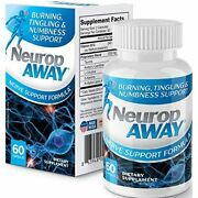 Neuropaway Nerve Support Formula For Nerve Pain Relief 60 Capsules In Box