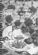 Onje Fun Orisa Food For The Gods Yoruba Culture 1987 Gary Edwards West Africa