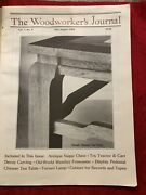 The Woodworkerand039s Journal Mag July - August 1983 Chinese Tea/table Toy Tractor