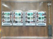2017 National Treasures Team Chest Booklet Bengals Rc Nfl Shield Patch 1/1 Bgs 9