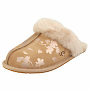 Ugg Scuffette 2 Floral Foil Womens Amphora Slippers Shoes - 5 Uk